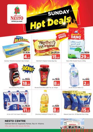 UAE - Ras al Khaimah Nesto Hypermarket offers in D4D Online. Ras Al Khaima. . Only on 31st January