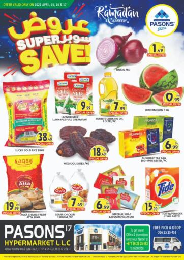 UAE - Dubai Pasons Supermarkets & Hypermarkets offers in D4D Online. Al Qouz -  Super Save!. . Till 17th April