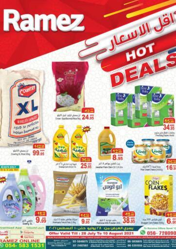 UAE - Sharjah / Ajman Aswaq Ramez offers in D4D Online. Hot Deals. . Till 10th August