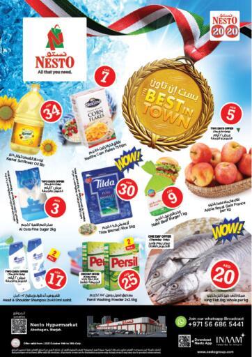 UAE - Fujairah Nesto Hypermarket offers in D4D Online. Abu Shagara, Sharjah. . Till 16th October