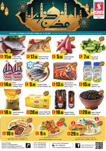 Qatar - Al Shamal Safari Hypermarket offers in D4D Online. Ramadan Kareem. . Only On 11th April