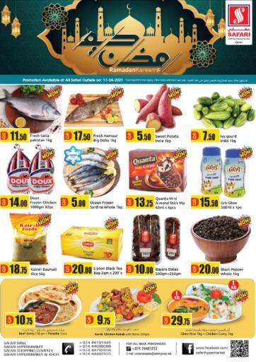 Qatar - Al Daayen Safari Hypermarket offers in D4D Online. Ramadan Kareem. . Only On 11th April