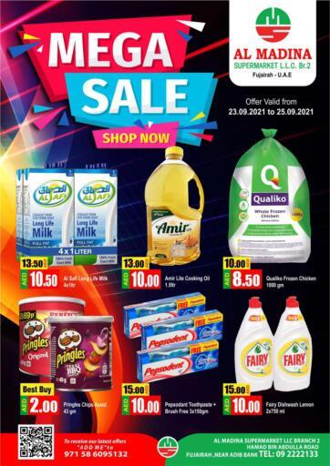 UAE - Fujairah Al Madina Supermarket LLC offers in D4D Online. Hamad Bin Abdullah, Fujairah. . Till 25th September