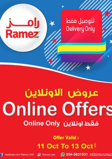 UAE - Dubai Aswaq Ramez offers in D4D Online. Online Offers. . Till 13th October