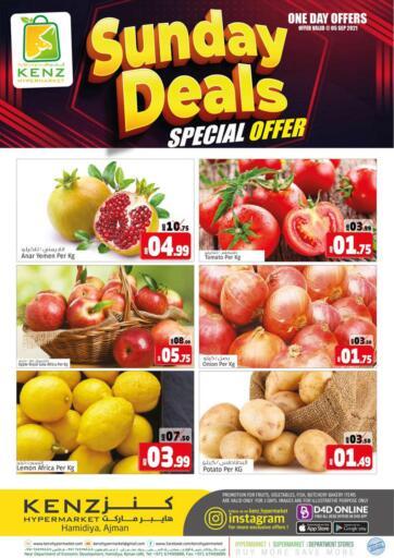 UAE - Sharjah / Ajman Kenz Hypermarket offers in D4D Online. Sunday Deals. . Only 5th September