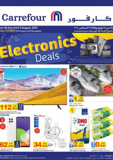 Kuwait Carrefour offers in D4D Online. Electronics Deals. . Till 3rd August