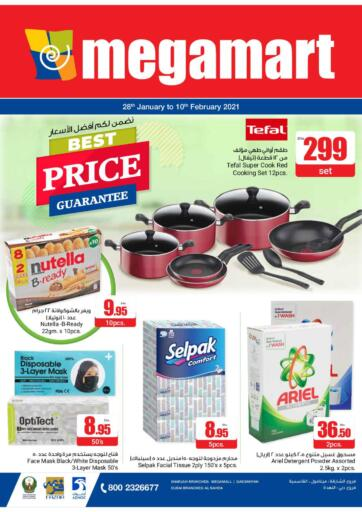 UAE - Sharjah / Ajman Megamart Supermarket  offers in D4D Online. Best Price Guarantee. . Till 10th February