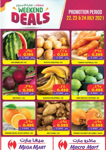 Bahrain MegaMart & Macro Mart  offers in D4D Online. Weekend Deals. . Till 24th July