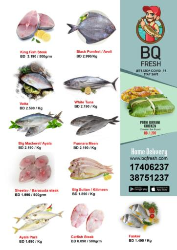 Bahrain BQ Fresh offers in D4D Online. Special Offer. Special Offer @ BQ Fresh!! Buy  products at reduced prices at BQ Fresh!! Offer Valid Till 11th July.. Till 11th July