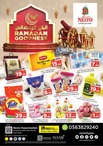 UAE - Dubai Nesto Hypermarket offers in D4D Online. Al Muteena Street, Diera- Dubai. . Till 10th April