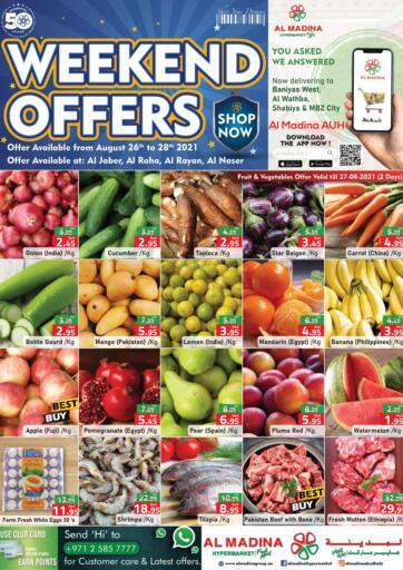 UAE - Abu Dhabi Al Madina Hypermarket offers in D4D Online. Weekend Offers. . Till 28th August