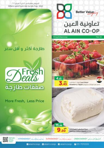 UAE - Abu Dhabi Al-Ain Co-op Society offers in D4D Online. Fresh Deals. . Till 6th February