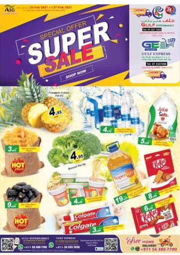 UAE - Ras al Khaimah Gulf Hypermarket offers in D4D Online. Super Sale. . Until Stock Last