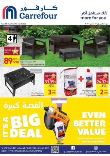 Oman - Salalah Carrefour offers in D4D Online. Its A Big Deal. . Till 17th March