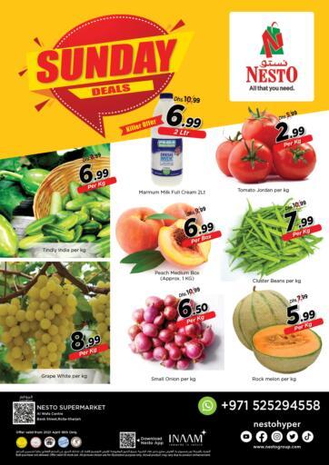 UAE - Sharjah / Ajman Nesto Hypermarket offers in D4D Online. Rolla, Sharjah. . Only On 18th April