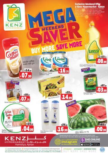 UAE - Sharjah / Ajman Kenz Hypermarket offers in D4D Online. Mega Weekend Saver. Mega Weekend Saver Now At Kenz Hypermarket.Do Shop Now At Exciting Offer. Valid Till 15th March 2021.  Enjoy Shopping!!!. Until Stock Last