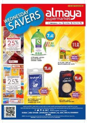 UAE - Dubai Al Maya Supermarkets & Hypermarkets offers in D4D Online. Wednesday Savers. . Till 23rd March