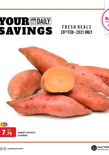 Qatar - Al Wakra Rawabi Hypermarkets offers in D4D Online. Your Daily Savings. . Only on 28th February