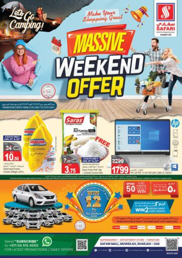 UAE - Dubai Safari Hypermarket  offers in D4D Online. Weekend Offer. . Till 27th January