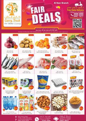 Qatar - Al-Shahaniya Carry Fresh Hypermarket offers in D4D Online. Fair Deals. . Till 22nd September