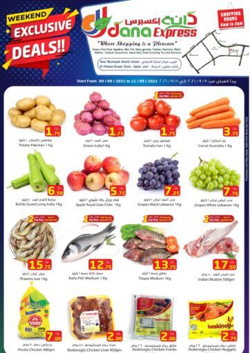 Qatar - Al Daayen Dana Express offers in D4D Online. Weekend Exclusive Deals. . Till 11th September