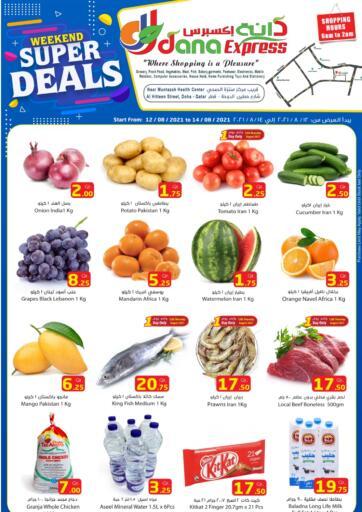 Qatar - Al Daayen Dana Express offers in D4D Online. Weekend Super Deals. . Till 14th August