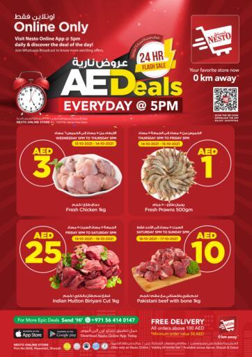 UAE - Fujairah Nesto Hypermarket offers in D4D Online. AED Deals Everyday @ 5PM. . Until Stock Last