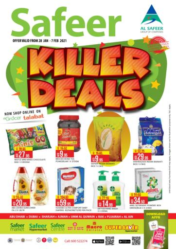 UAE - Abu Dhabi Safeer Hyper Markets offers in D4D Online. Killer Deals.