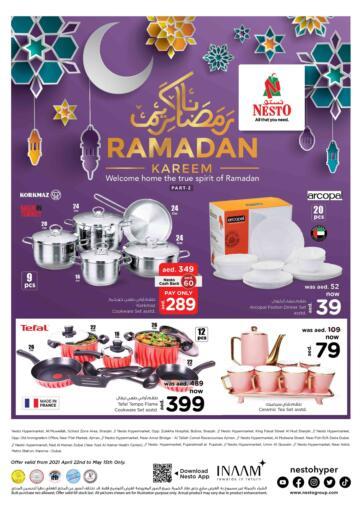 UAE - Umm al Quwain Nesto Hypermarket offers in D4D Online. Ramadan Offers. . Till 15th May