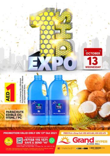 UAE - Dubai Grand Hyper Market offers in D4D Online. Al Khail Mall - Dubai. . Till 13th October