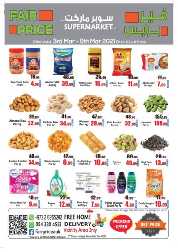 UAE - Abu Dhabi Fair Price Supermarket LLC offers in D4D Online. Weekend Offer. . Till 9th March