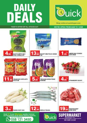 UAE - Dubai Quick Group offers in D4D Online. Daily Deals. . Only On 15th March