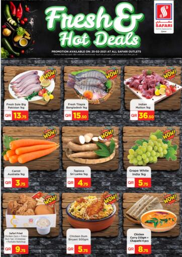 Qatar - Al Wakra Safari Hypermarket offers in D4D Online. Fresh And Hot Deals. . Only On 25th February