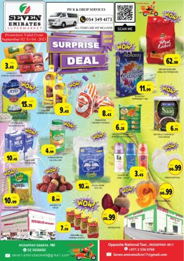 UAE - Abu Dhabi Seven Emirates Supermarket offers in D4D Online. Surprise Deal. . Till 4th September