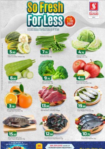 Qatar - Al Wakra Safari Hypermarket offers in D4D Online. So Fresh For Less. . Only On 21st October
