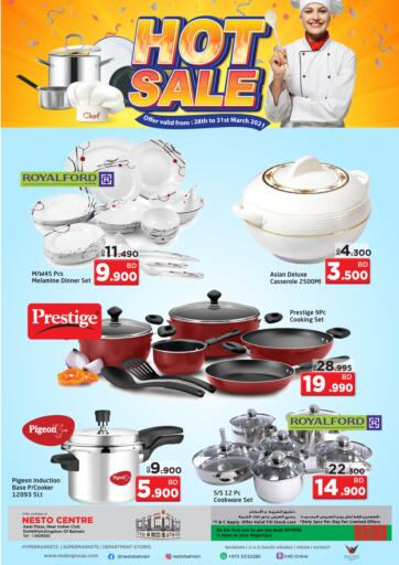 Bahrain NESTO  offers in D4D Online. Hot Sale. . Till 31st March