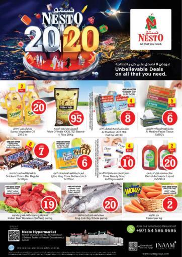 UAE - Sharjah / Ajman Nesto Hypermarket offers in D4D Online. Homat Al Watan,Al Hamidiya 1-Ajman. . Till 23rd October