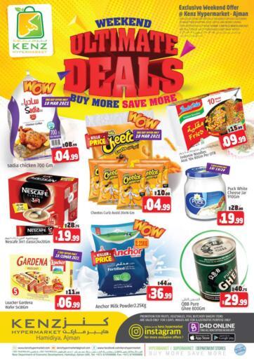 UAE - Sharjah / Ajman Kenz Hypermarket offers in D4D Online. Weekend Ultimate Deals. . Until Stock Last