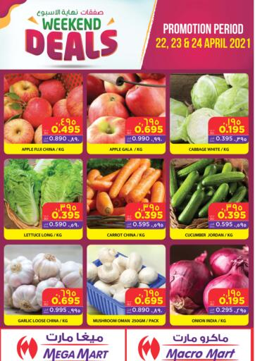 Bahrain MegaMart & Macro Mart  offers in D4D Online. Weekend Deals. . Till 24th April