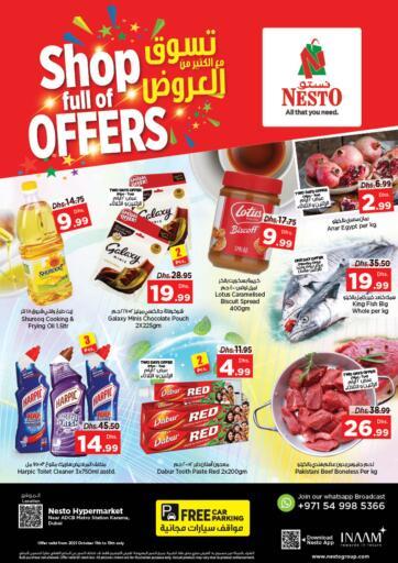 UAE - Sharjah / Ajman Nesto Hypermarket offers in D4D Online. Karama, Dubai. . Till 13th October