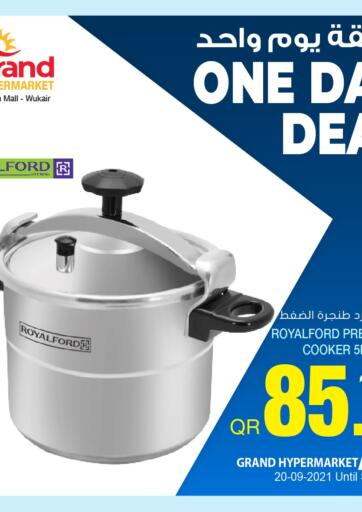 Qatar - Al-Shahaniya Grand Hypermarket offers in D4D Online. One Day Deal. . Only on 20th September