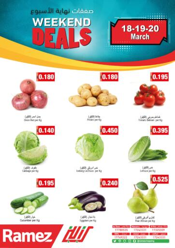 Bahrain Ramez offers in D4D Online. Weekend Deals. . Till 20th March