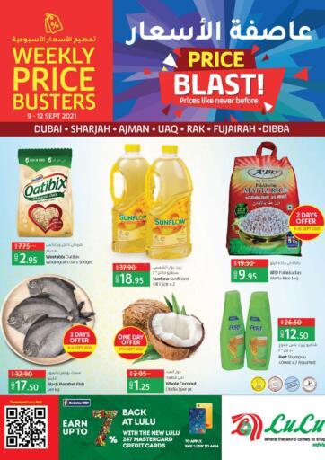 UAE - Sharjah / Ajman Lulu Hypermarket offers in D4D Online. Price Blast. . Till 12th September