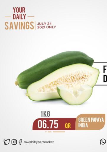 Qatar - Al-Shahaniya Rawabi Hypermarkets offers in D4D Online. Fresh Deals. . Only on 24th July