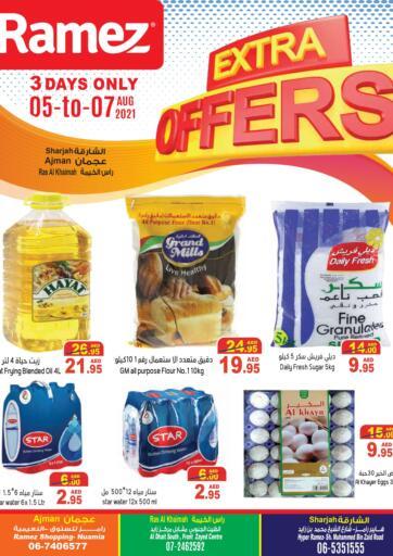 UAE - Ras al Khaimah Aswaq Ramez offers in D4D Online. Extra Offers. . Till 07th August