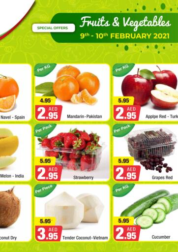 UAE - Abu Dhabi West Zone Supermarket offers in D4D Online. Fruits & Vegetables Offer. . Till 10th February