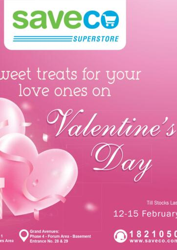 Kuwait Saveco offers in D4D Online. Valentine's Day. . Till 15th February