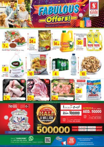 UAE - Sharjah / Ajman Safari Hypermarket  offers in D4D Online. Fabulous Offers!. . Till 25th August