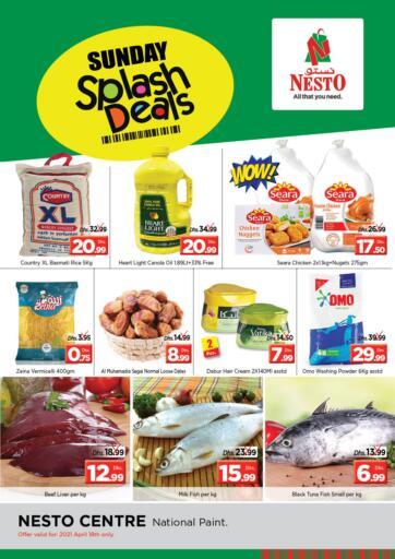 UAE - Sharjah / Ajman Nesto Hypermarket offers in D4D Online. National Paint - Sharjah. . Only On 18th April