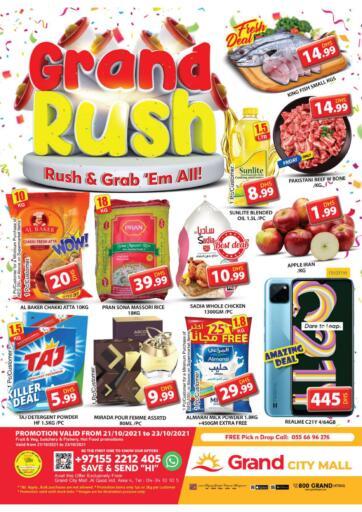 UAE - Dubai Grand Hyper Market offers in D4D Online. City Mall - Dubai. . Till 23rd October